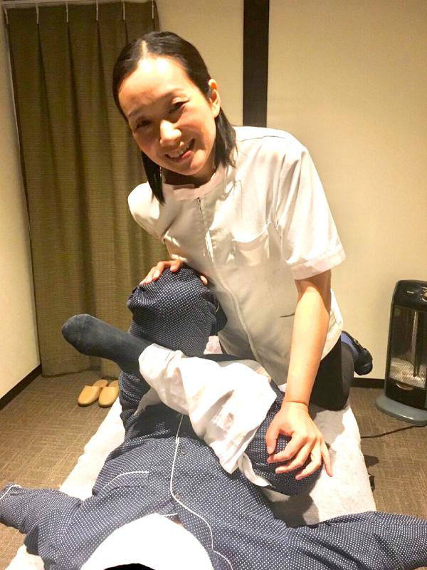 鍼灸師、ケアマネージャー 翁理香