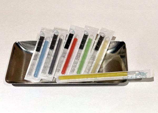 使い捨て(ディスポーザブル)針を使用 当院の鍼灸について